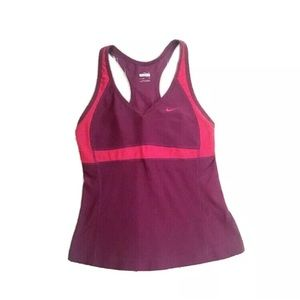 Nike Dri Fit Athletic Color Block Tank Top